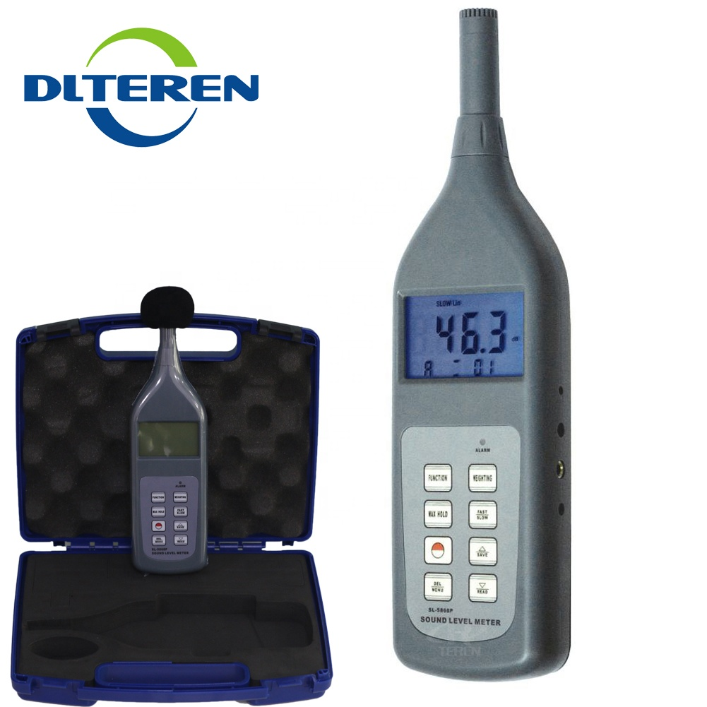 Portable Sound Level Meter Decibel Monitor Voice Noise Tester LCD Display
