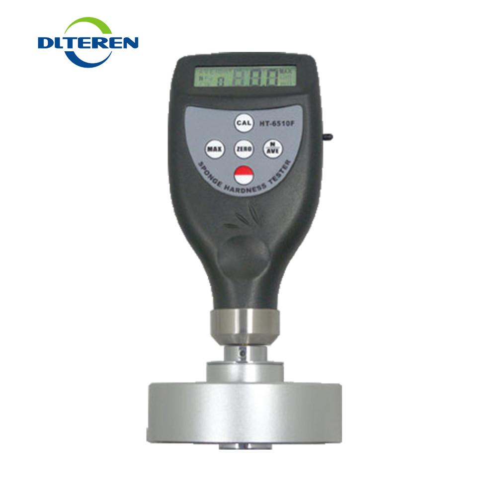 HT6510F Digital Shore Hardness Tester Durometer Sponge Foam Detector HT6510F for Soft Cellular Materials Testing