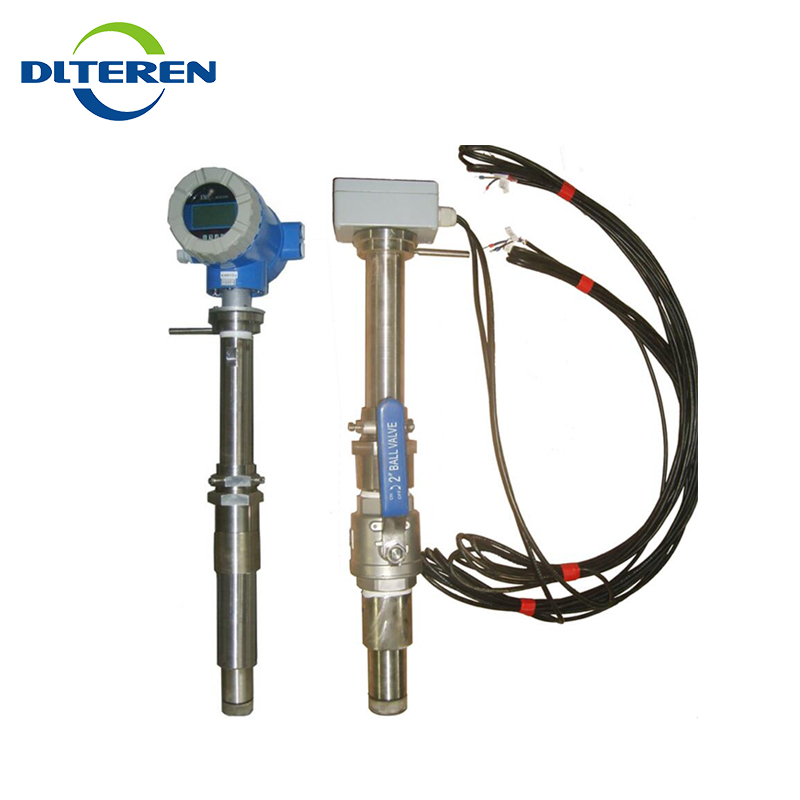 Factory price Insertion type intelligent waste water flowmeter electromagnetic flow meter liquid chemical industry flowmeters