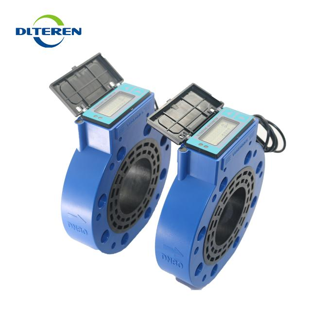 2019 new product Sandwich-typed Ultrasonic Water meter