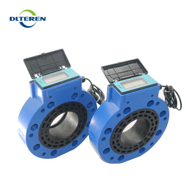 High Precision Remote Reading Water Meter Water Flow Meter Pulse Output T3 Sandwich Type Ultrasonic Water Meter