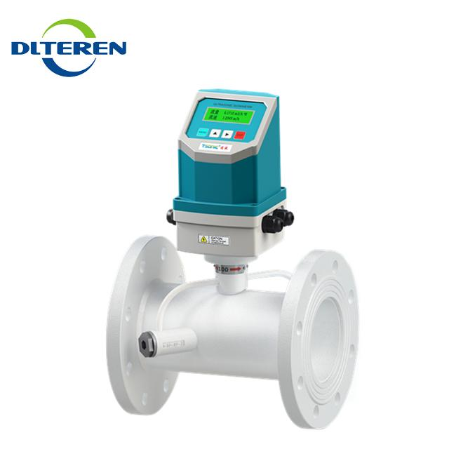 Wireless Remote RS485 Modbus Digital Ultrasonic Water Flow Meter Watermeter Flowmeter