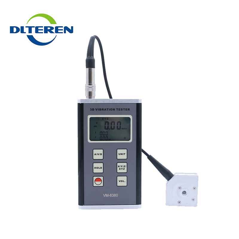 Hand held vibration meter by ultrasound VM-6380