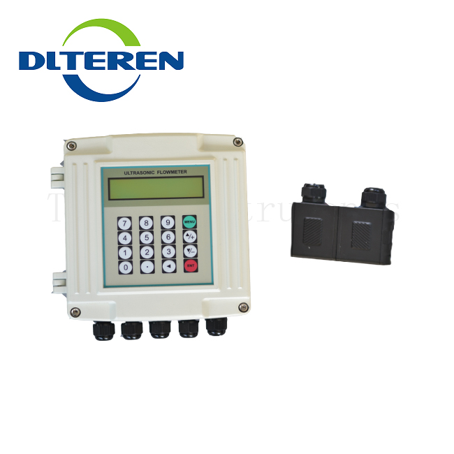 DTI-200F TDS-200/2000H No Pressure Drop Bearing Pulse-output Ultrasonic Flow Meter DLTEREN