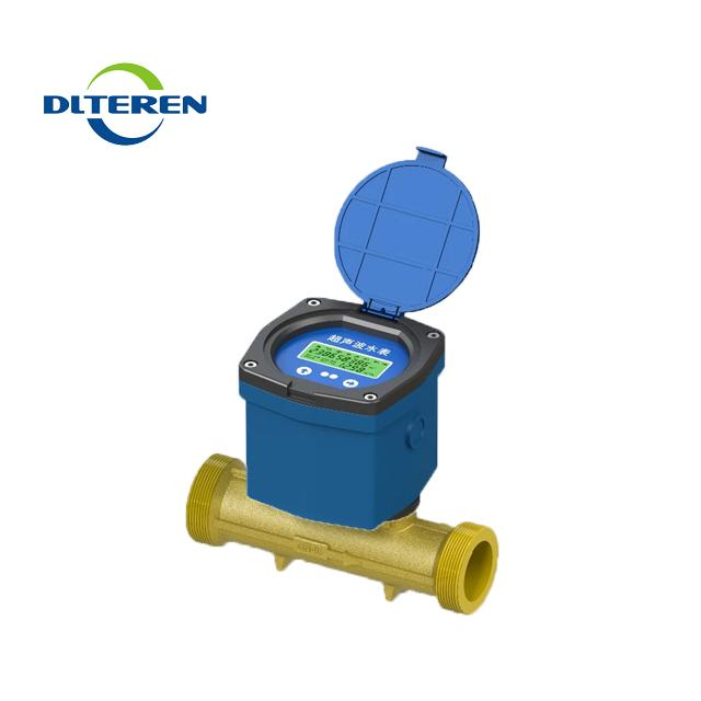 IP68 Battery Powed Liquid Control Wireless Ultrasonic Sea Water Flow Meter Flowmeter Price