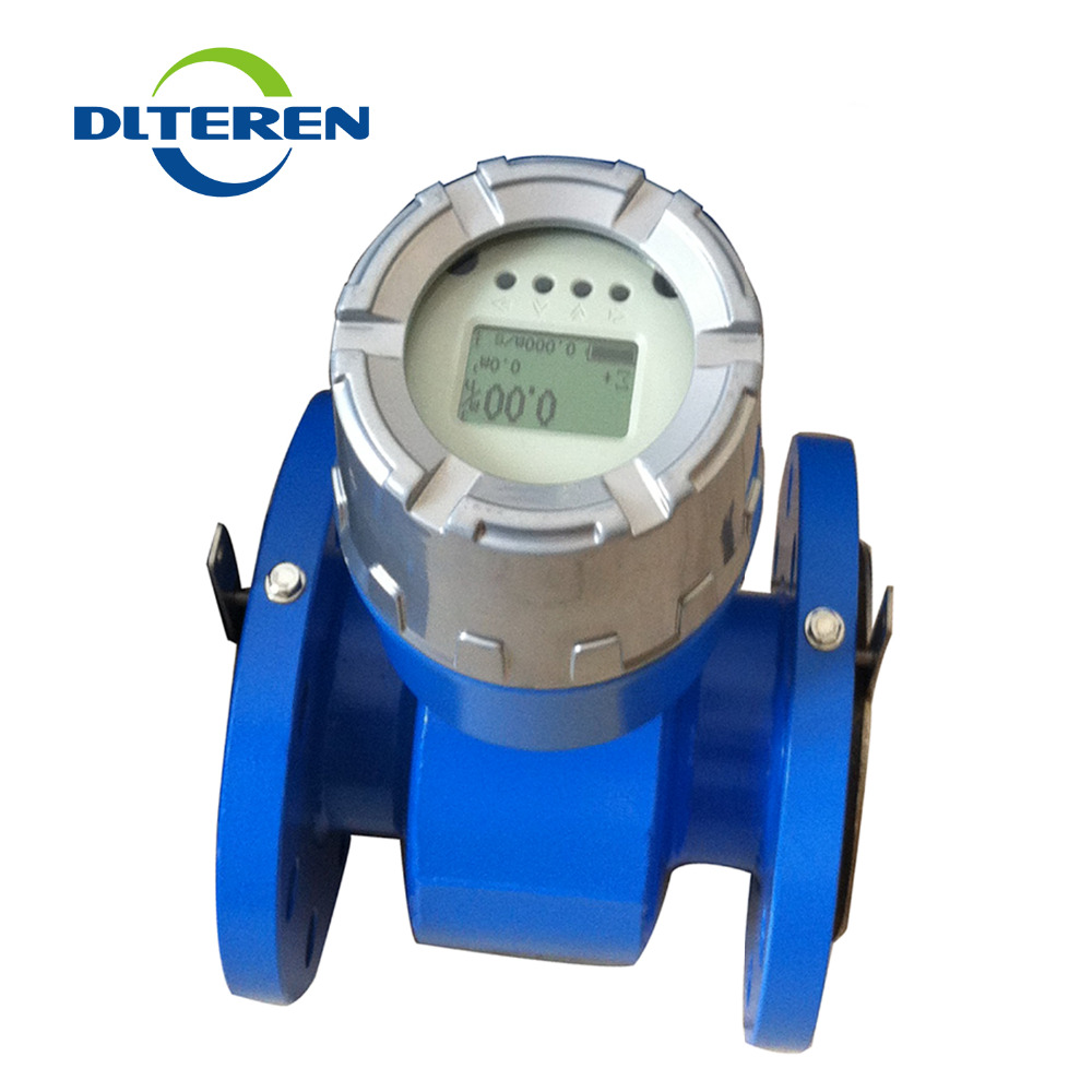 Integrated Electromagnetic FlowmeterBattery Powered Magnetic Flow Meter