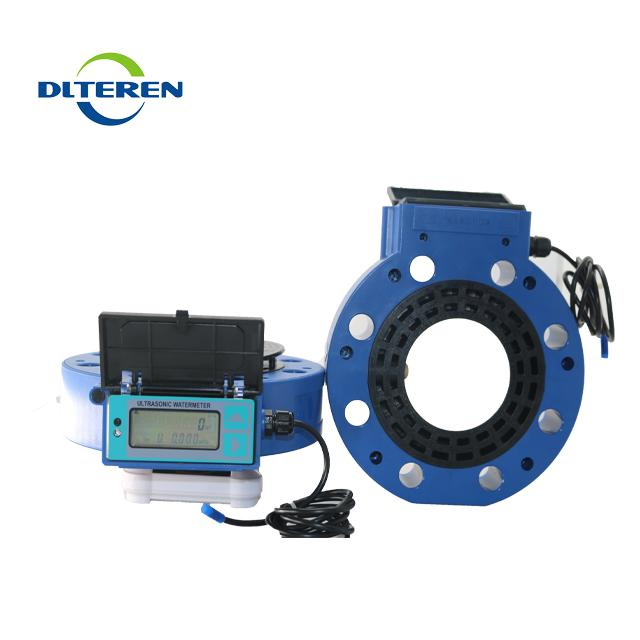 Plastic Ultrasonic Water Meter Digital Water flow meter with NB-LOT output used for irrigation